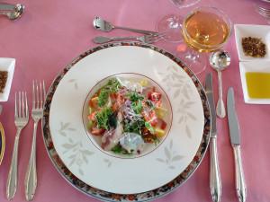 お昼はサンロイヤルホテルの豪華ランチ♪